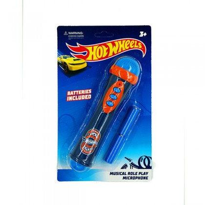 [LICENSED] HOT WHEELS Musical Role Play Microphone