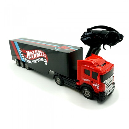[LICENSED] HOT WHEELS Remote Control Trailer Truck