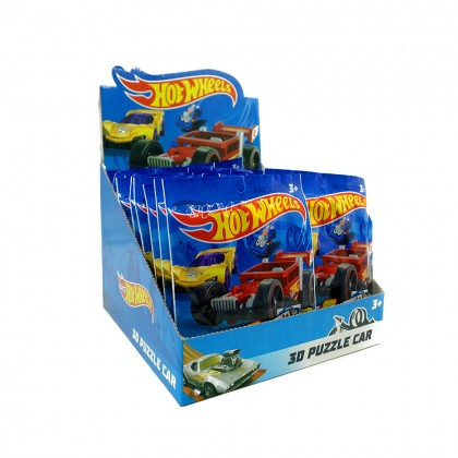 [LICENSED] HOT WHEELS 3D Puzzle Car