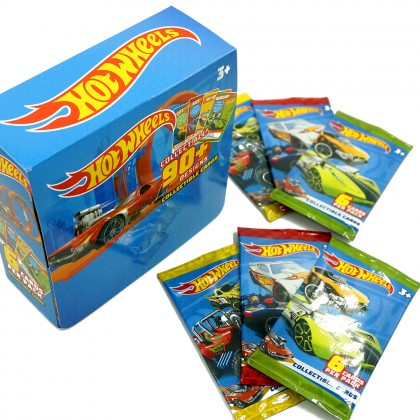 [LICENSED] HOT WHEELS Collectible Cards